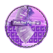 Pink And Purple GO Keyboard