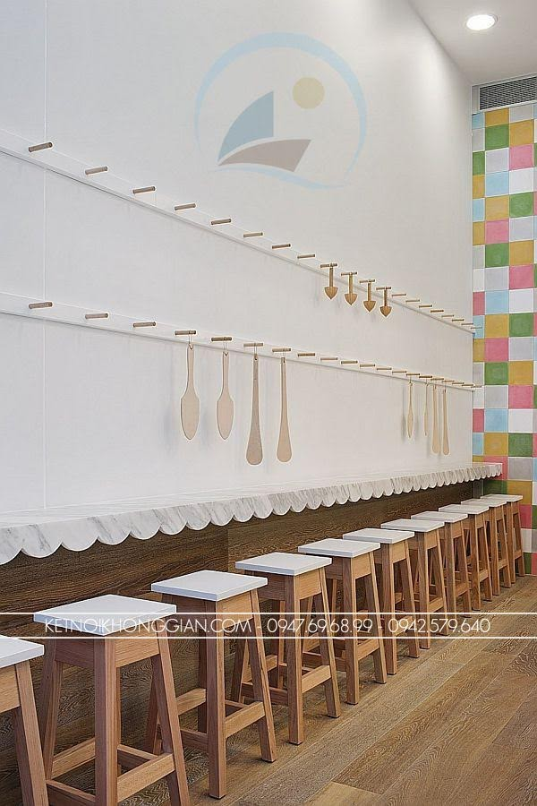 thiết kế cửa hàng bánh ngọt Joy 6