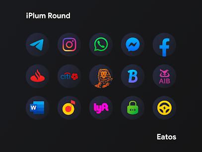 iPlum – Round Icon Pack (MOD, Paid) v2.0 3