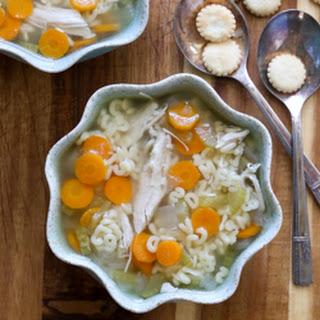 Slow Cooker Alphabet Soup