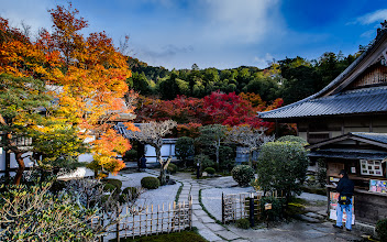 """Photo: This photo appeared in an article on my blog on Mar 10, 2013. この写真は3月10日ブログの記事に載りました。 """"The Gorgeous Enkouji Temple of North-East Kyoto"""" http://regex.info/blog/2013-03-10/2224"""