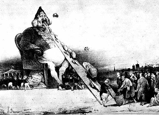 Gargantua - Honore Daumier (1831)