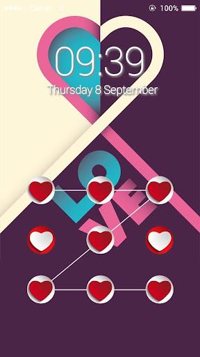 Applock Theme Love Heart