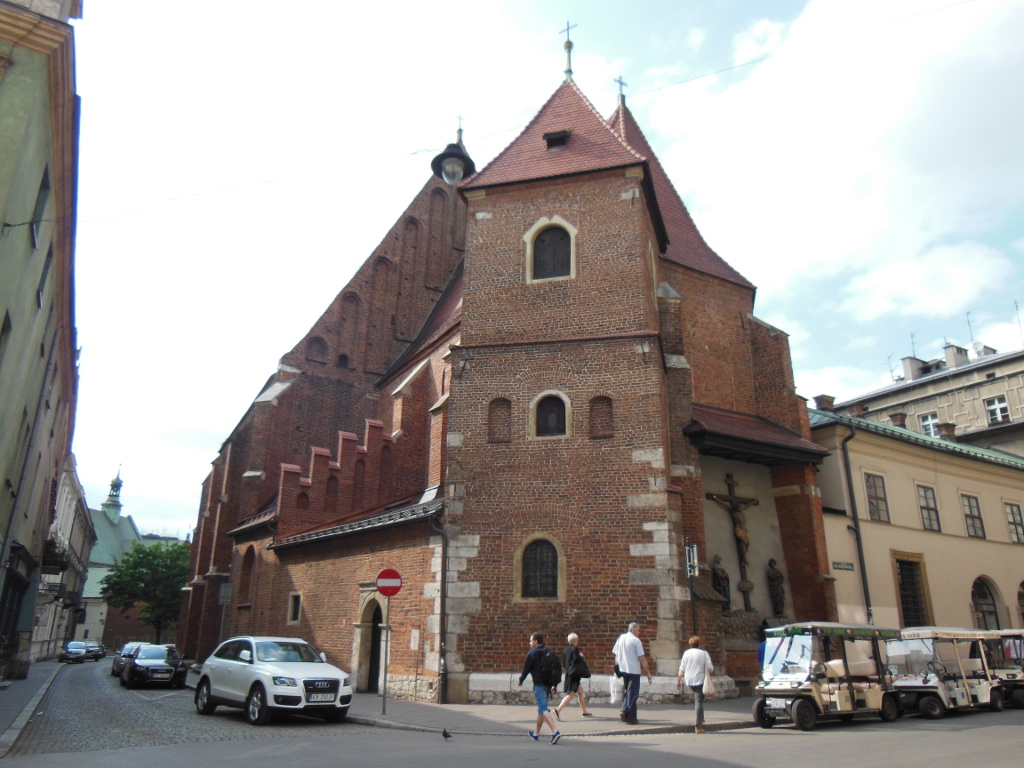 ¿Qué ver en Cracovia en 2 o 3 días? Iglesia de San Marcos Evangelista de Cracovia.