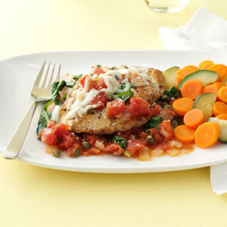Chicken in Tomato-Caper Sauce