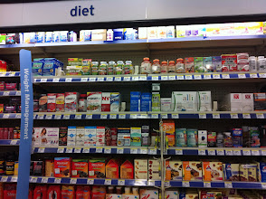 Photo: I am always amazed at how many diet products there are avaliable.