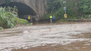 Stapleton Road, west of Durban, is one of the many roads that is closed due to overnight flooding