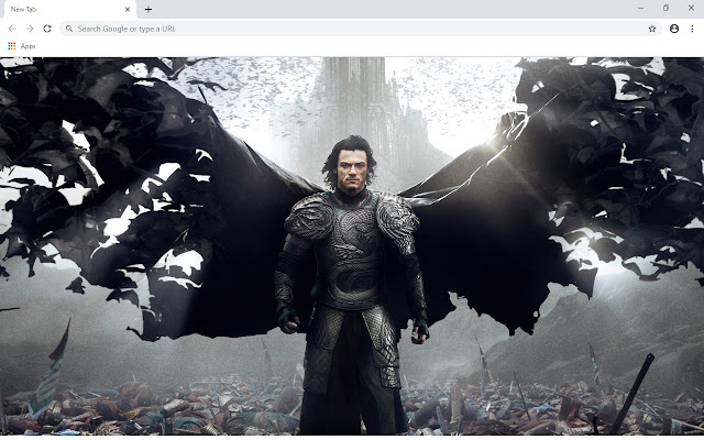 Luke Evans New Tab & Wallpapers Collection