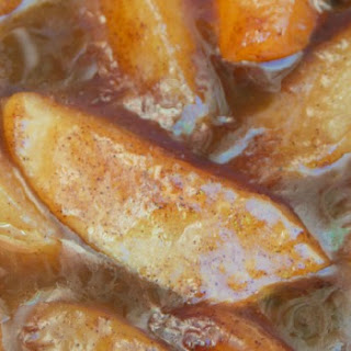 Slow Cooker Fried Apples.