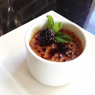 Chambord Crème Brulee