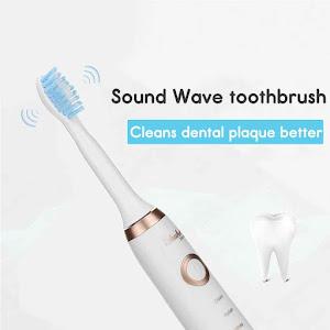 Periuta electrica de dinti, Shuke SK-601, 3 capete de schimb