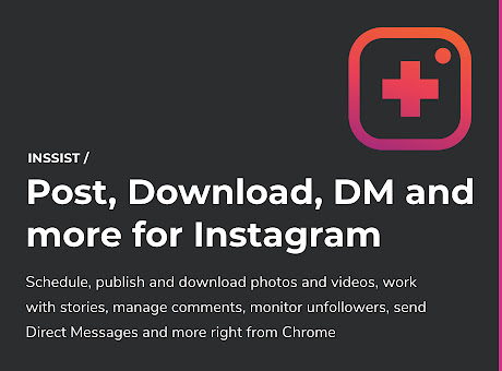 INSSIST | Web Client for Instagram