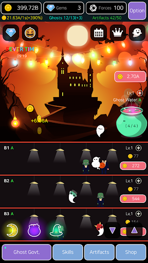 Merge Ghosts: Idle Clicker 1.0.0.4 screenshots 6