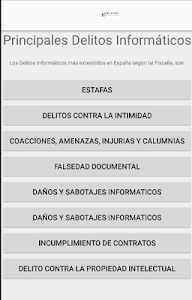 Delitos Informáticos screenshot 1