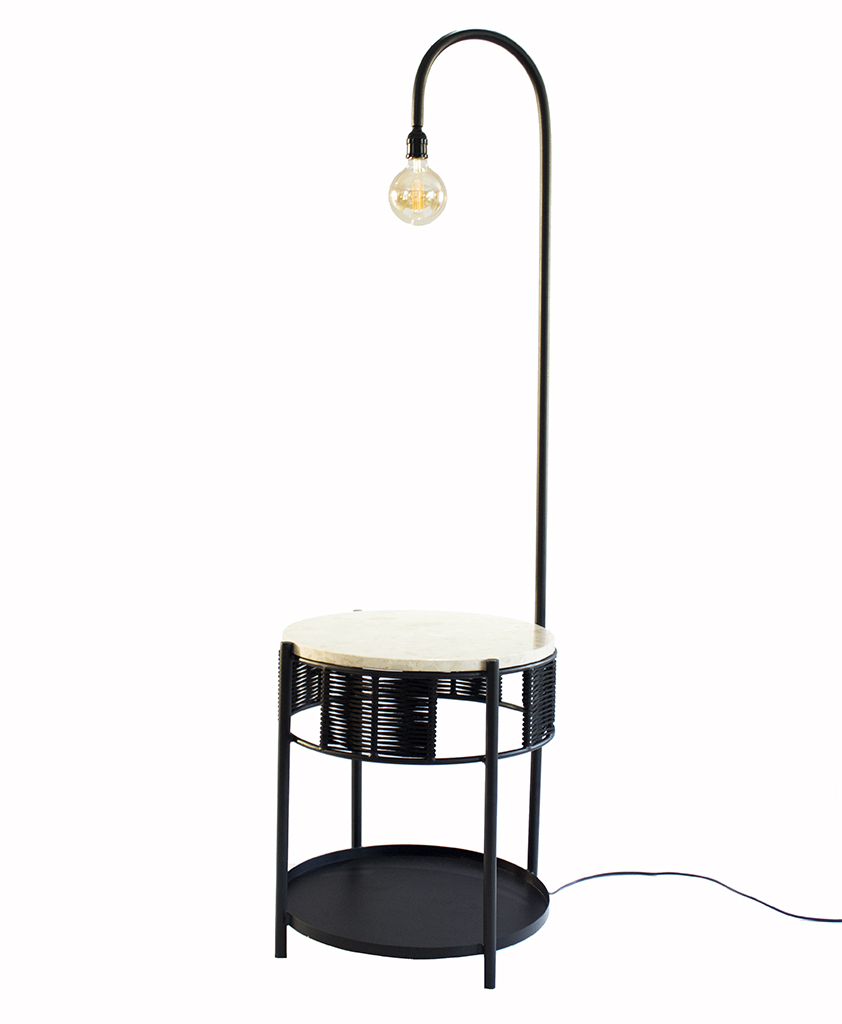Makeba Sidetable Light by The Urbanative