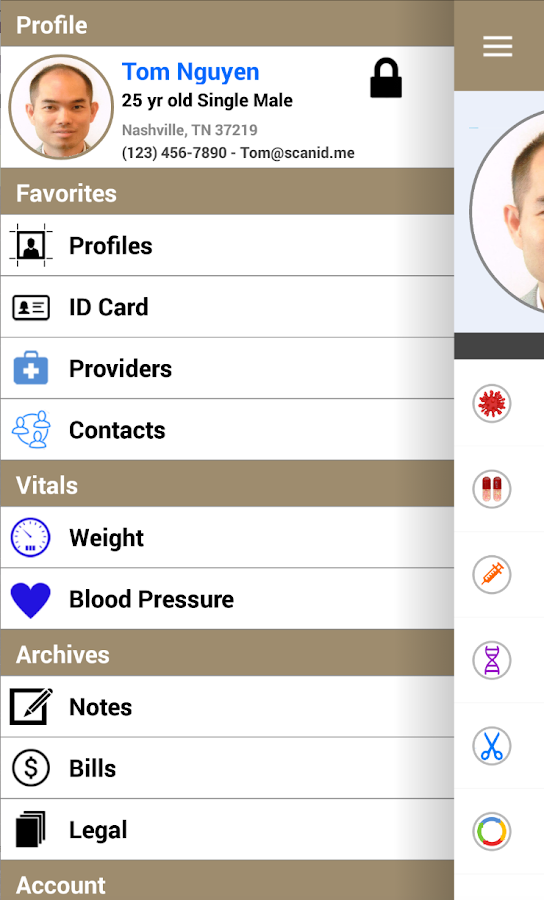 Emrify -Personal Health Record- screenshot