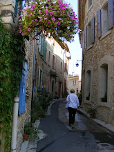 Photo: The narrow streets of the village hold less than 700 inhabitants.