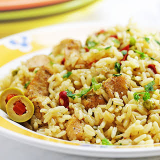 Instant Pot Chicken Breast and Rice (Spanish Style).