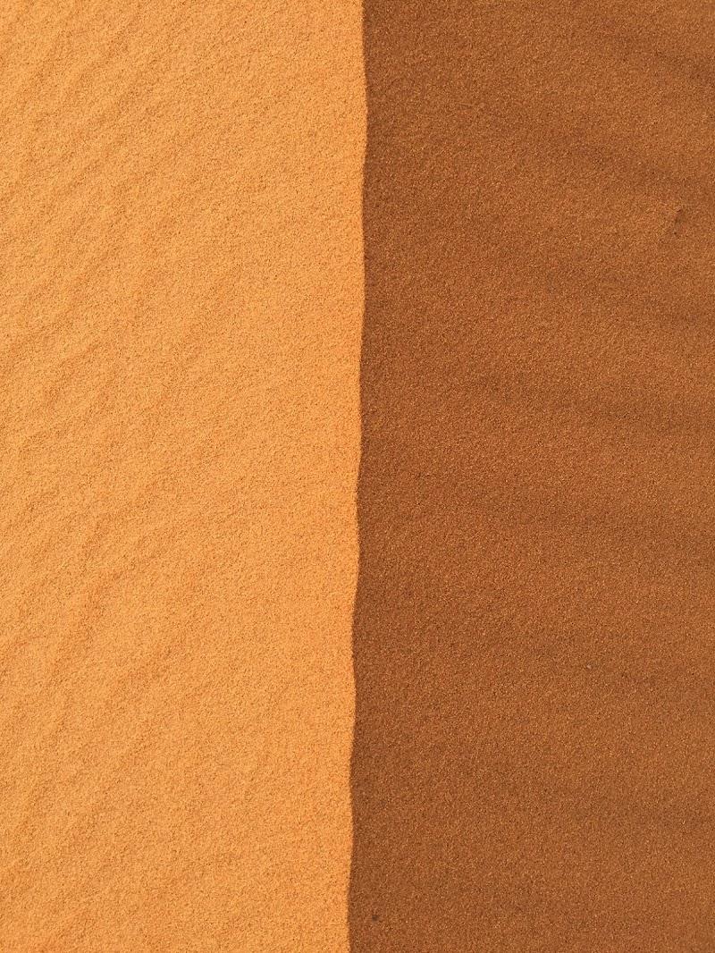 Nel deserto basta un filo di vento per cambiare tutto di masi