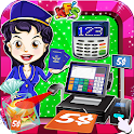 Airport Cashier Shopping Games icon