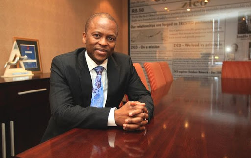 Sandile Zungu, president of the Black Business Council. Picture: SUNDAY TIMES