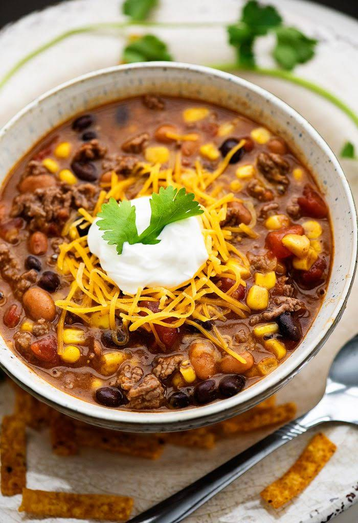 Taco Soup With Ranch Dressing