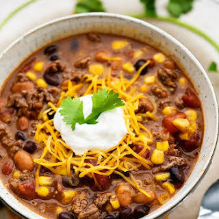 Ground Beef Taco Soup Crock Pot Recipes.
