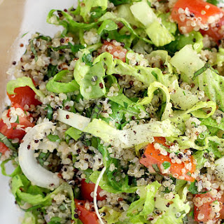Light and Lemony Quinoa Salad