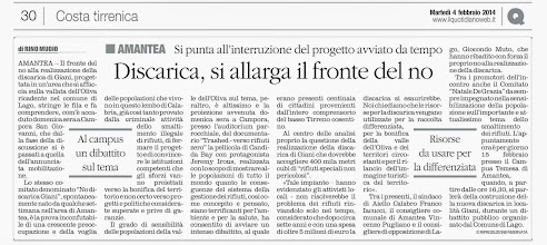 Photo: Il Quotidiano del 4.02.2014 pag. 30