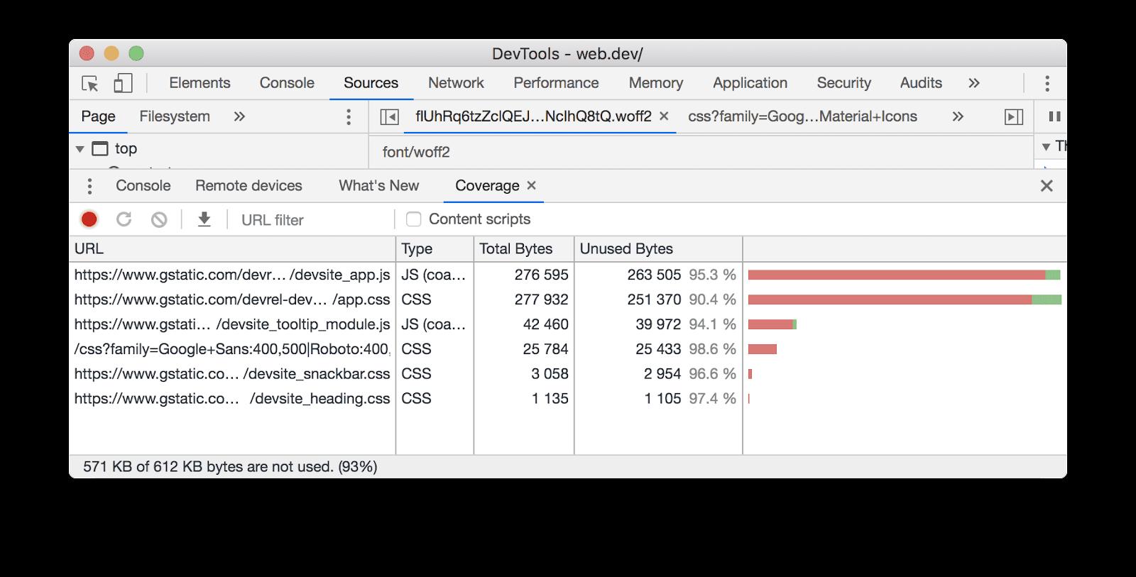 công cụ DevTools