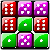Dice Puzzle Match 3: Color Block Game of Dice