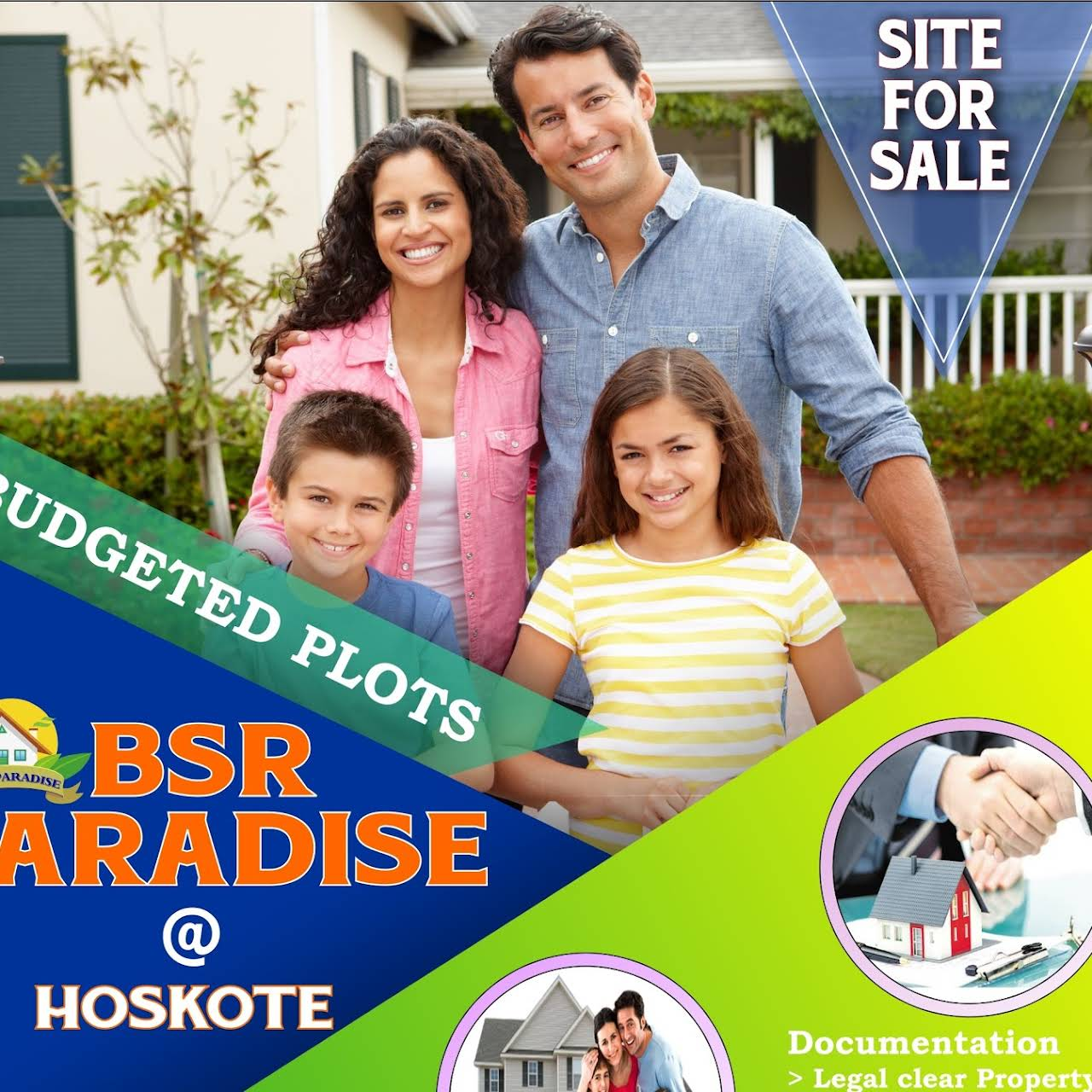 BSR Paradise Layout, Hoskote - Construction Company in Bengaluru