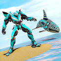 Whale Robot Transform : Shark Robot Games icon
