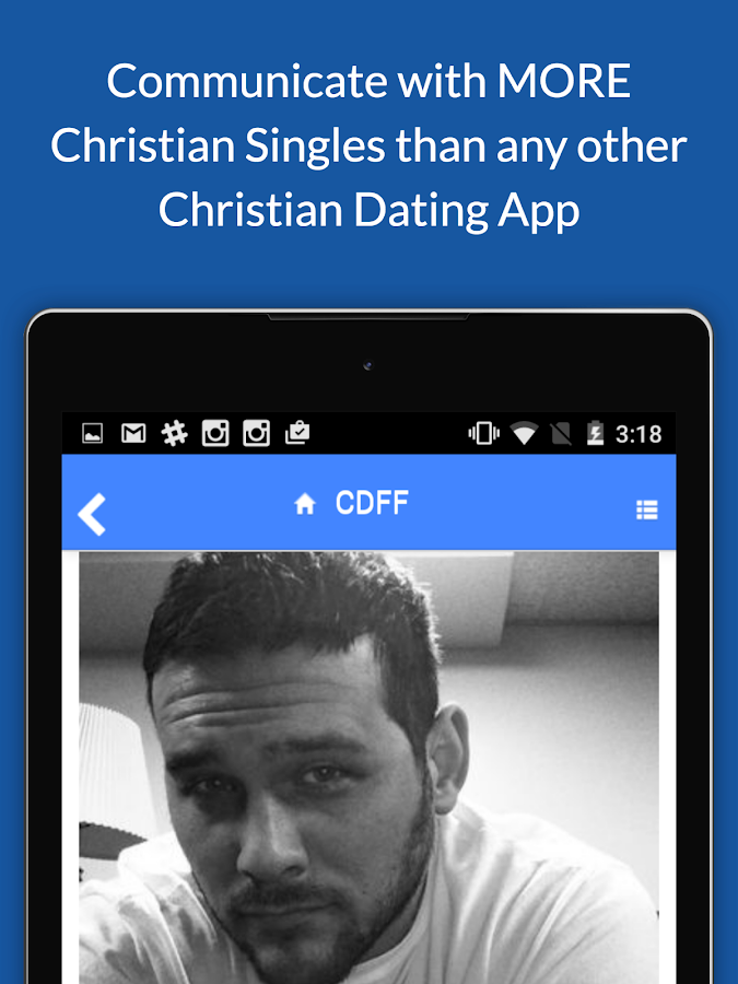 Christian Dating For Free App  screenshot Google Play