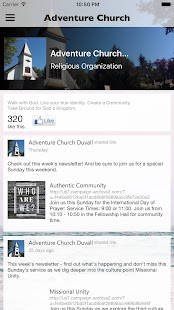 Adventure Community Church- screenshot thumbnail