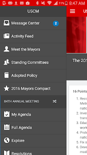 U.S. Conference of Mayors- screenshot thumbnail