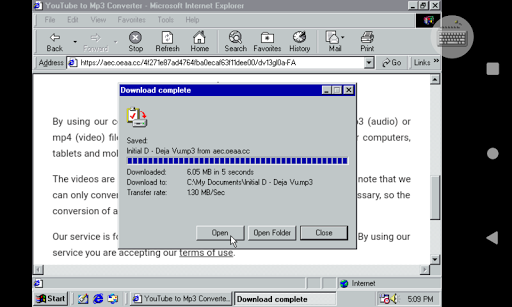 Win 98 Simulator 1.4.1 screenshots 16