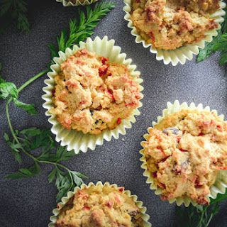Paleo Cardamom Carrot Muffins.