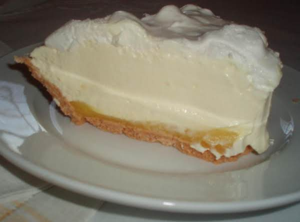 Triple Layer Lemon Meringue Pie