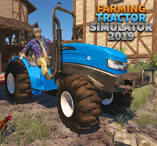 Tractor Farming Simulator - Big Farm Tractor Games apkmr screenshots 9
