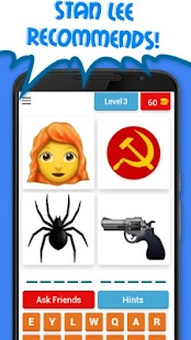 4 Emoji 1 Superhero - guess the comics hero! - náhled