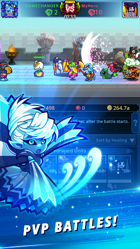 Télécharger Catch Idle - Epic Clicker RPG APK MOD (Astuce) screenshots 2