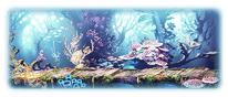 虹煌浜 ラヤの水辺