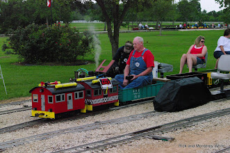 Photo: Bob Sanford - electric passes steam.  HALS-SLWS 2009-0523