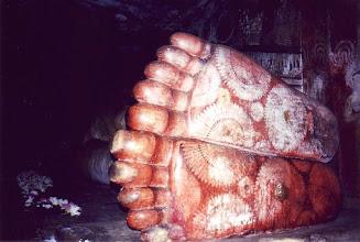 Photo: #012-Dambulla-Le bouddha couché