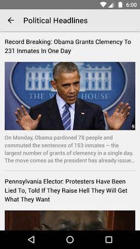 all Politics US Political News screenshot