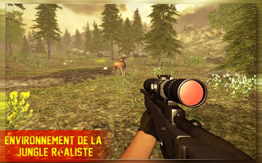 Code Triche Animal Hunting Sniper 2017 - Jungle Safari Gun APK MOD screenshots 2