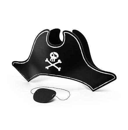 Pirathatt och ögonlapp - Pirates party