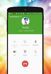 Fake Sonic Call Phone Prank - náhled