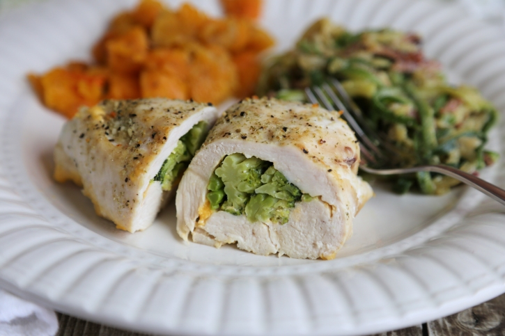 Broccoli and Cheese Stuffed Chicken Recipe | Yummly